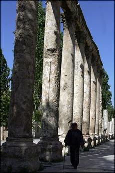 Anfiteatro romano, en Jordania